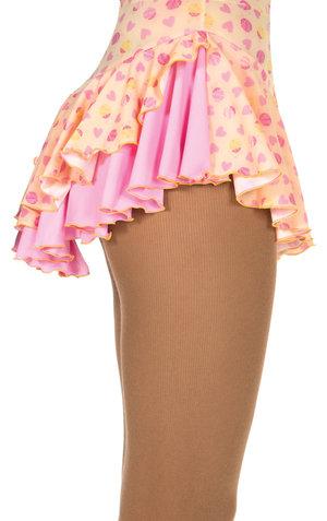 Mönstrad kjol nyckelpigor