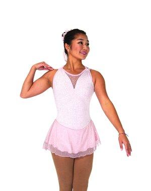 Ljust rosa klänning