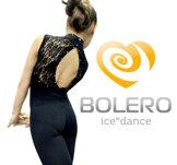 Ärmlös heldräkt med spetsliv och  kristaller från Bolero