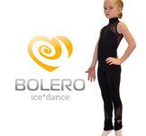 Ärmlös heldräkt medmeshsliv och  kristaller från Bolero