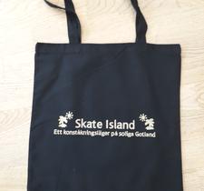 Tygkasse med Skate Island-tryck