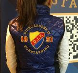 Blå klubbväst Djurgårdens konståkning
