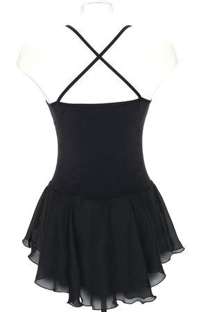 Snygg träningsklänning svart, lila eller turkos