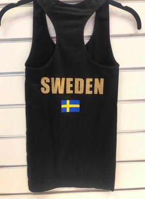 Sverigetryck  och flaggor