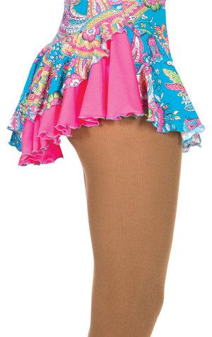 Kjol med paislymönster