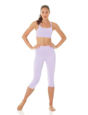 Lila sport-BH i funktionsmaterial