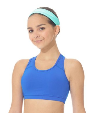 Sport-BH i funktionsmaterial och rygg i mesh i 4 olika färger