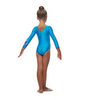 Ljusblå gymnastikdräkt  från RG Leotard