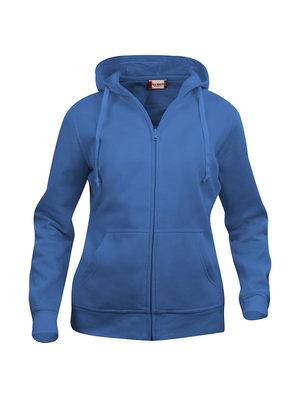 Hoodtröja i svart eller blått med dragkedja