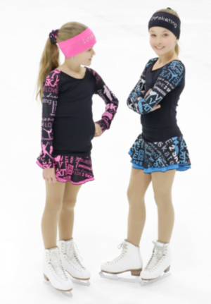 Turkosmönstrad kjol från Elitexpression