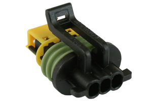 OEM Speedometer Sensor Connector or Siren Connec. with T