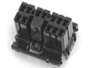 Amp multilock male plug 12-wire