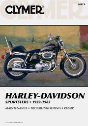 Clymer Repair Manual Sportster 1959-85