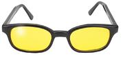 K-D  Glasögon Gula
