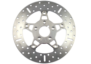 Ebc Polished Stainless Floating Rotor,front 84-99
