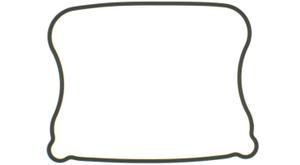 Packn.Ventilkåpa XL 1986-90, Nedre Gmi