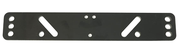Tvärplatta Sadel-T, custom mont.