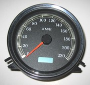 Hastighetsmätare FL/Fxst 1999-03,FLHR99-03,Electronisk