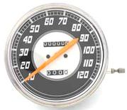 Hastighetsmätare F/B 2:1 Mph,1946-47