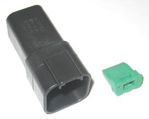 Deutsch 6 Wire Receptacle pin housing