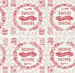 Home sweet home visar hela näsduken