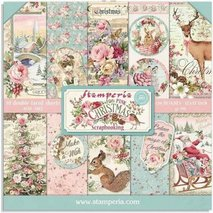 Paper Pack Stamperia - Pink Christmas - SBBL73