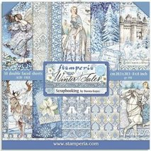 Paper Pack Stamperia - Winter Tales SBBL76