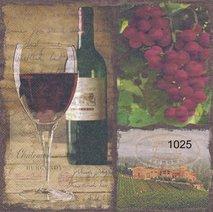 Rött vin och druvor   ser1025