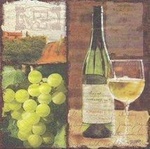 Vitt vin och druvor   ser1026