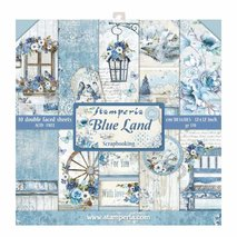 Paper Pack  Stamperia - Blue Land SBBL47