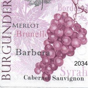 Röda druvor Burgunder  kaf2034