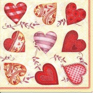 Massor av hjärtan   6129