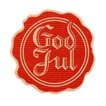 GOD JUL SIGILL BRUN/RÖD självhäftande