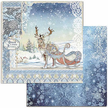 Papper Stamperia - Winter Tales - Deer  SBB718