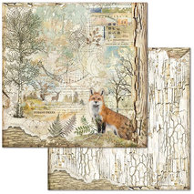 Papper Stamperia - Fox  SBB656