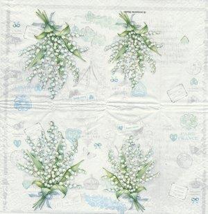 Liljekonvalj (visar hela näsduken)