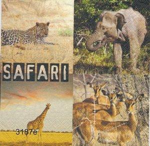 Safari många små olika motiv (se vidare bilder)   3187