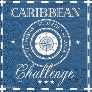 Caribbean (blå)