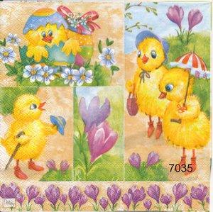 Små påskkycklingar    sep7035