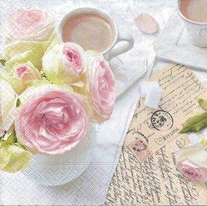 Fika med rosor  8243