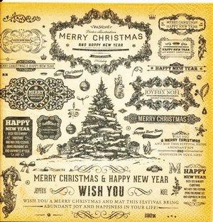 Merry christmas (svart text)     sej2154