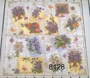 Blommor av olika slag  8128