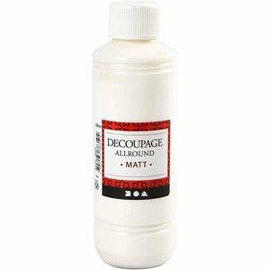 Decoupage lim-lack, Matt, 250 ml  ds042