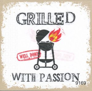 Grilled with passion (vit bakgrund)  9163