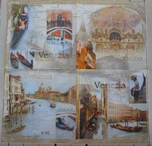 Venezia (visar hela servetten)