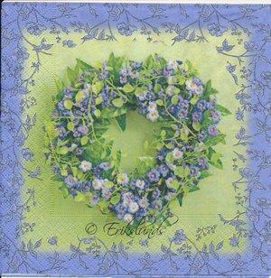 Blomster hjärta  8171