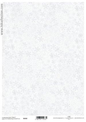 Scrapbooking paper ensidigt  A4 SC0 033