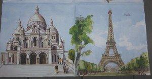Paris 4 olika bilder