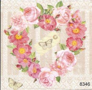 Blomsterhjärta  8346