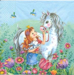 Prinsessa med häst